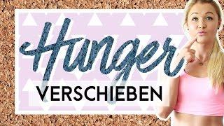 Den Hunger verschieben? Erfolg garantiert!   Sophia Thiel