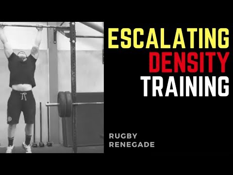 Rugby Renegade | Rugby Strength Training: Escalating Density Training