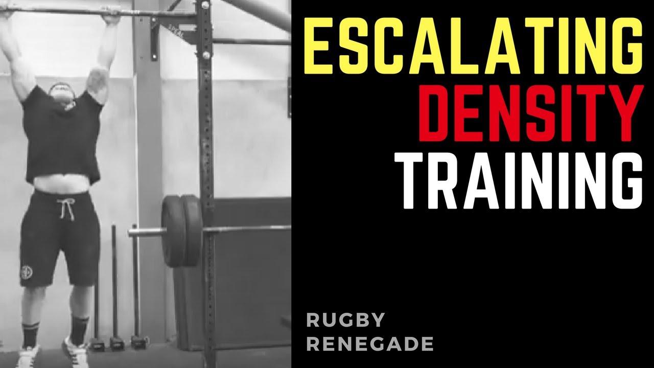 Rugby Strength Training Escalating Density Training