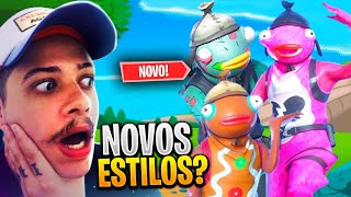 SECRET STYLES OF THE PEIXOTO THAT EPIC DID NOT CAST-FORTNITE