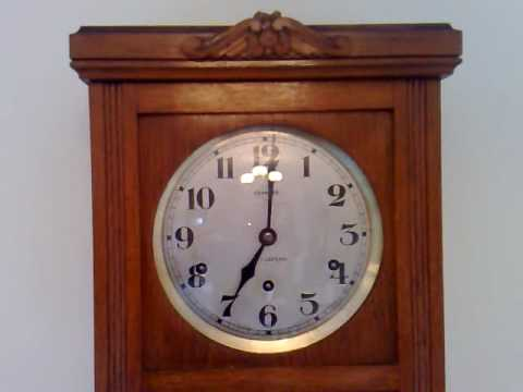 Vedette Carillon Westminster Chime Wall Clock Youtube