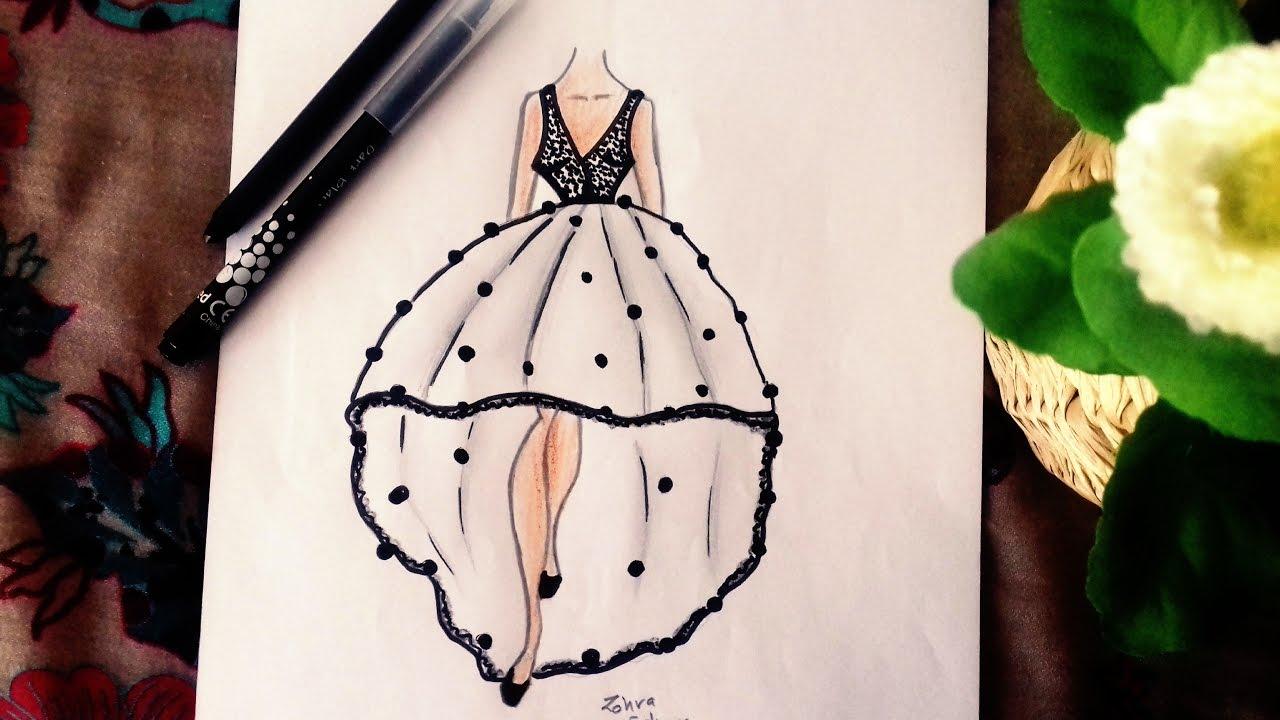 Black White Dress Youtube
