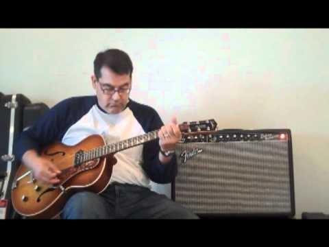 Godin 5th Ave Kingpin - Fender Deluxe Reverb - Demo