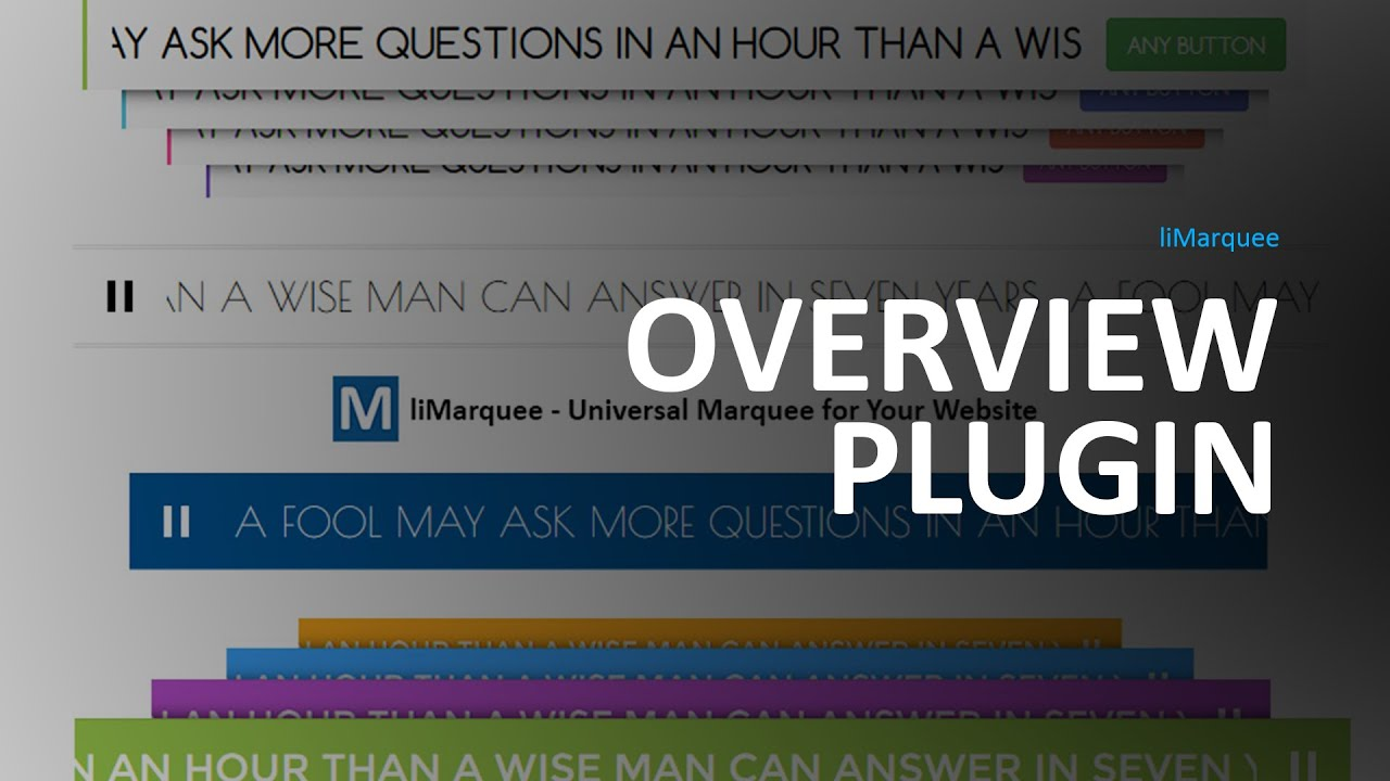 liMarquee jQuery plugin