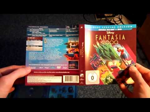 """""""Fantasia 2000"""" Blu-ray+DVD Combo Pack Unboxing Review"""
