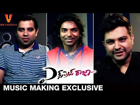Express Raja Music Making Exclusive | Sharwanand | Surabhi | Praveen Lakkaraju | UV Creations