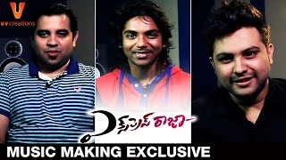 Express Raja Music Making Exclusive | Sharwanand | Surabhi | Praveen Lakkaraju | UV Creations