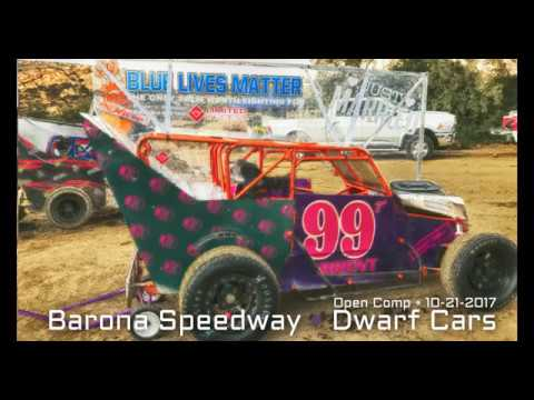 Barona Speedway Dwarf Car Open Comp Main • 10-21-2017
