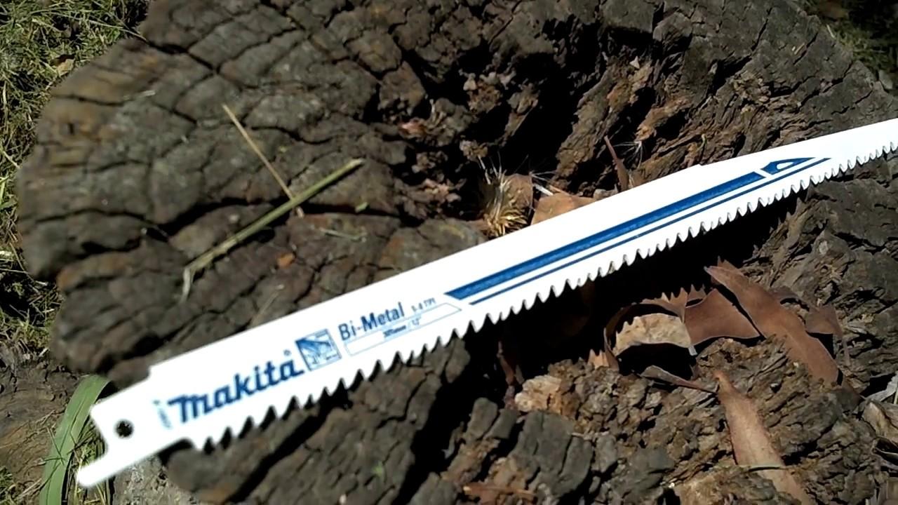 Makita hoja de sierra sable para madera youtube - Hojas de sierra para madera ...