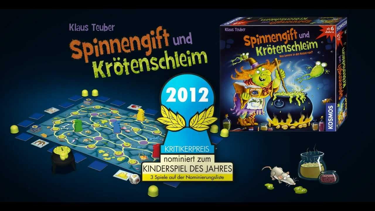 a860fd946f3eff Spinnengift und Krötenschleim - Kosmos - Gesellschaftsspiele für Kinder