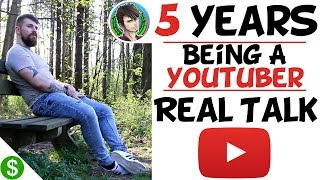 Real Talk: 5 Years On YouTube, Progress, Update, Sponsorships, Life Changes