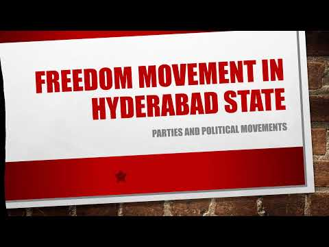 Freedom Movement in Hyderabad State