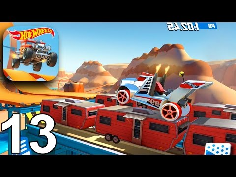Hot Wheels: Race Off - Levels 41-45 (3 Stars) - Gameplay Walkthrough Part 13 (iOS Android)
