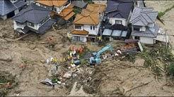 Dutzende Tote bei Unwetter in Japan