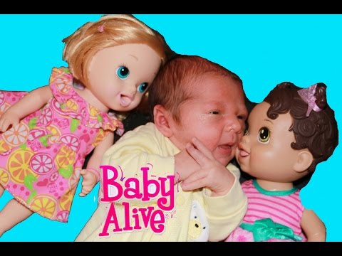 Baby Alive Meets Baby Boy Doll Big Sister Funnycat Tv