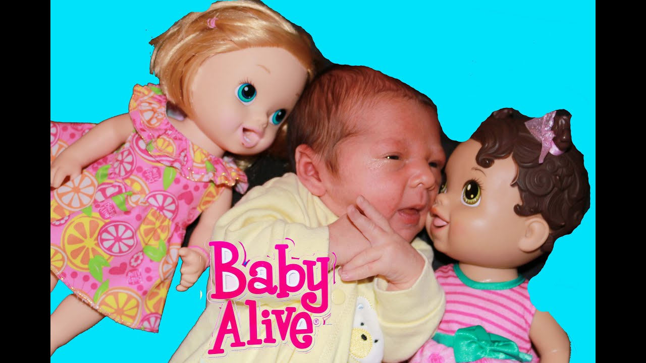 Baby Alive Meet New Baby Boy Newborn Alltoycollector Youtube