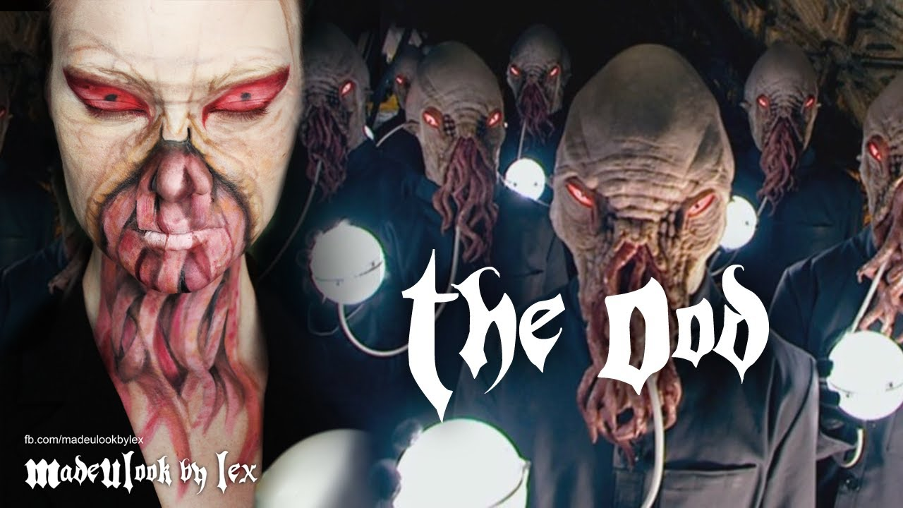 sc 1 st  YouTube & The Ood Makeup Tutorial (Doctor Who) - YouTube