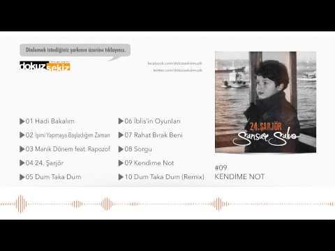 Sansar Salvo - Kendime Not (Official Audio)