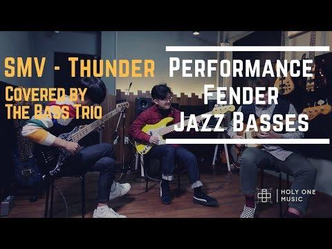 SMV - Thunder - Performance & Fender Jazz Basses, Played By 3 Korean Bassists