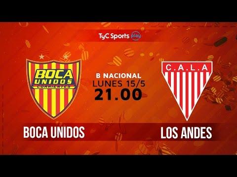 Primera B Nacional: Boca Unidos vs. Los Andes | #BNacionalenTyC