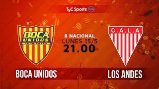 Boca Unidos vs Los Andes full match