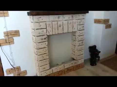 видео: Делаем фальш-камин из гипсокартона своими руками