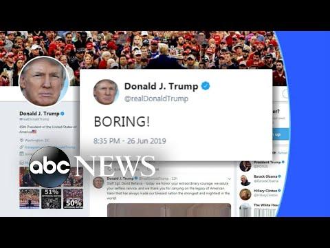 Trump weighs in on 1st Democratic debate