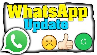 WhatsApp: Neue Status-Funktion, neues Design usw...! - Alle Neuerungen! | 2017 [Deutsch](WhatsApp Update zusammengefasst mit allen Neuerungen, dazu zählt sich: neue status funktion, neues design usw. wird whatsapp jetzt zu snapchat?, 2017-02-22T21:57:56.000Z)
