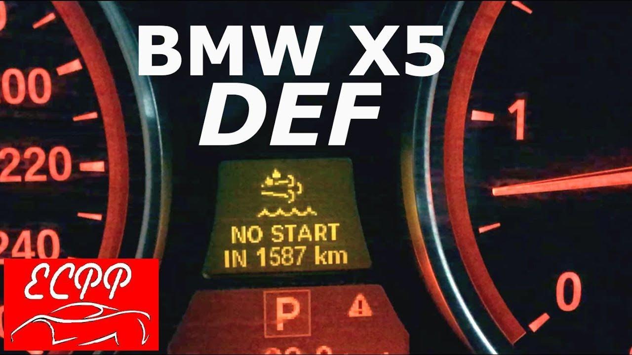 BMW X5 DEF Fluid Time Bomb | E70 Diesel Maintenance
