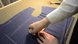 The Making Of A Coat #3 - Striking The Pattern