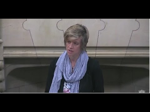 Charlotte leads Westminster Hall debate on Middle East