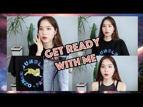 같이준비해요 !  Make Up - 캐쥬얼한 코디까지 /  Get Ready With Me :: 채소(CHAESO)