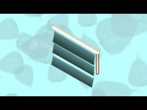 HOW TO FIT A ROMAN BLIND in easy steps - YouTube