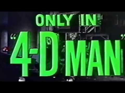Random Movie Pick - 4D Man (1959) YouTube Trailer