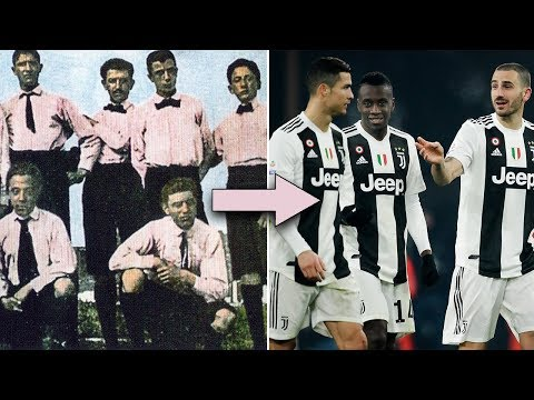 Why Juventus play in black and white - Oh My Goal