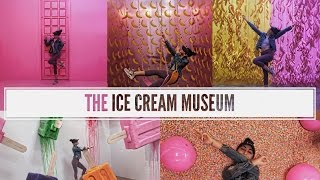 I WENT TO THE MUSEUM OF ICE - CREAM !