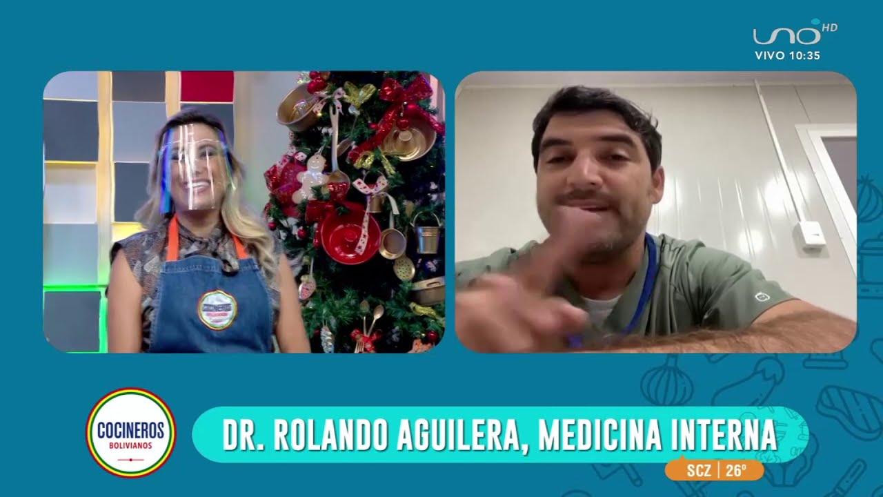Signos de alarma sobre covid-19 con el Doctor Rolando Aguilera