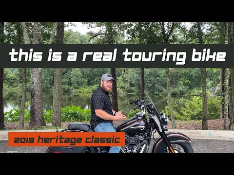 IS THE SOFTAIL HERITAGE REALLY A TOURING BIKE?