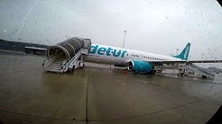 BUSBOARDING Vienna Airport Corendon Boeing 737-800 DETUR Livery