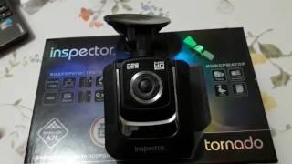 видео Inspector Storm Видеорегистратор