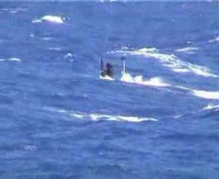 German Submarine S196 in trouble