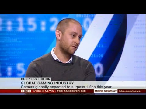 Jamie Gavin, BBC News, Global Gaming Industry