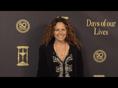 Meredith Scott Lynn Red Carpet Style at Days of Our Lives 50 Anniversary Party