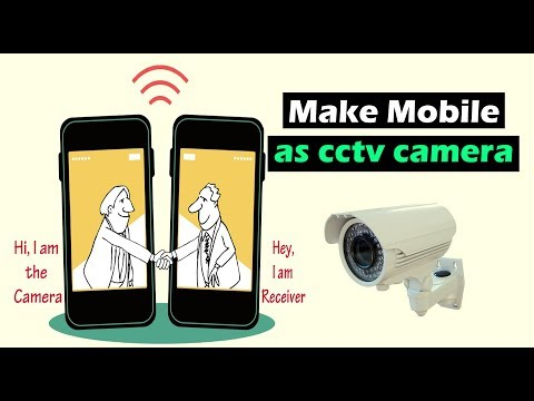 Make Wireless CCTV Camera Using Android Mobile Phone | Ip Camera Making 🎥