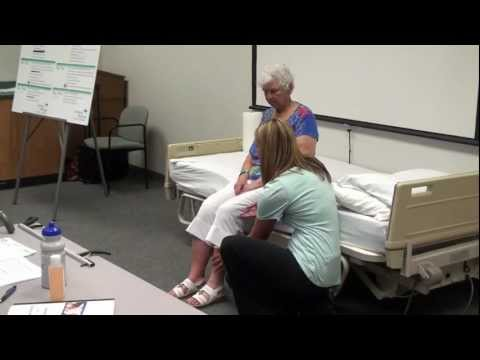 Physical Therapist Assistant Uses a Variety of Career Skills