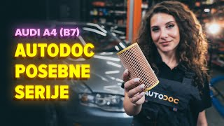 Vzdrževanje Audi Q3 8u - video priročniki