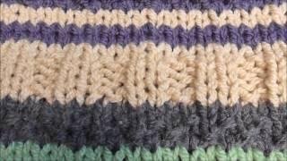 Farbenspiel Pullover gestrickt