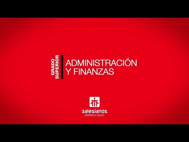 Vídeo Administración y Finanzas