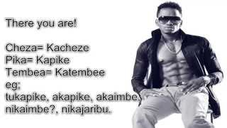 Diamond Platnum Swahili Song in English lyrics  Kamwambie