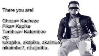 Diamond Platnum Swahili Song in English lyrics  Kamwambie